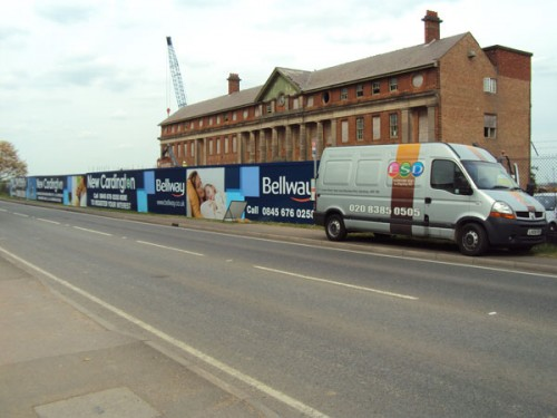 Construction Hoardings - Bellway - Cardington