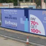 Bellway Phoenix Park - Construction Hoarding