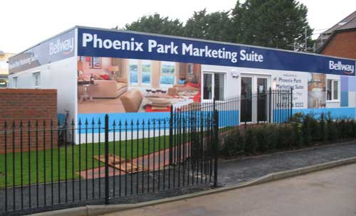 Bellway Homes - Phoenix Park - Construction Hoarding