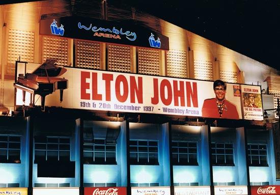 Billboard - Wembley - Elton John