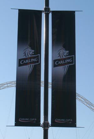 Carling Banner - Wembley Stadium