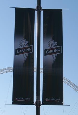 Carling Banner - Wembley Stadium