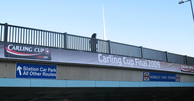 Carling Cup Final Banner 2009 - Wembley