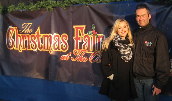 Banners - Fearne Cotton - Michael Cotton - O2 Christmas Fair Banners