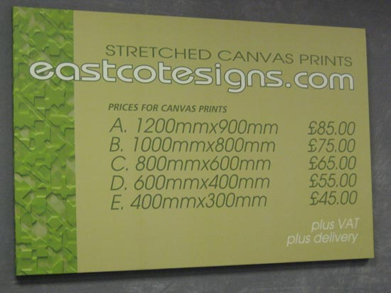 Stretched Canvas Print Prices