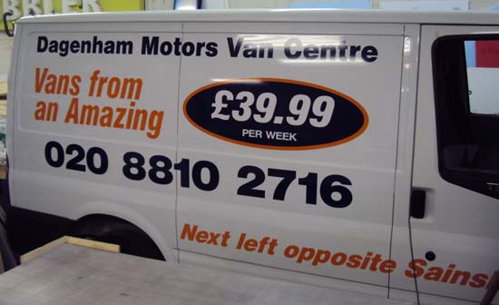 Transit Van Vehicle Graphics