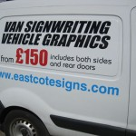 Van Signwriting Vehicle Graphics