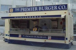 Burger Van - Catering Van - Wembley - Signs