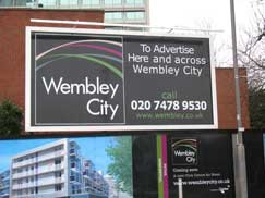 Wembley City - Construction Hoarding