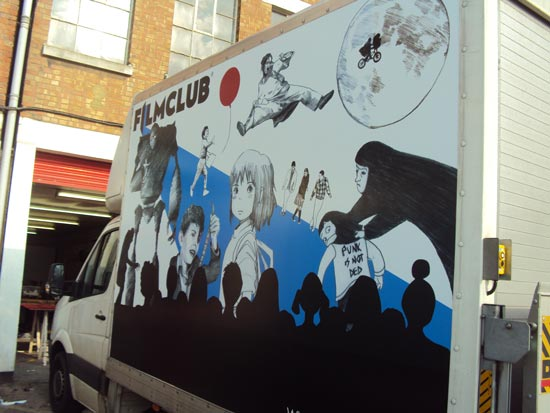 Van Sign - Vehicle Graphics - Film Club
