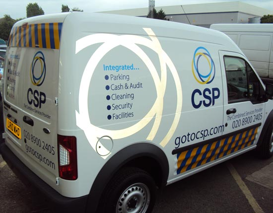 CSP Transit Connect - Vehicle Graphics