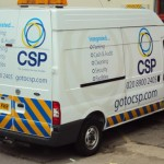 Reflective Vehicle-Graphics - CSP Transit