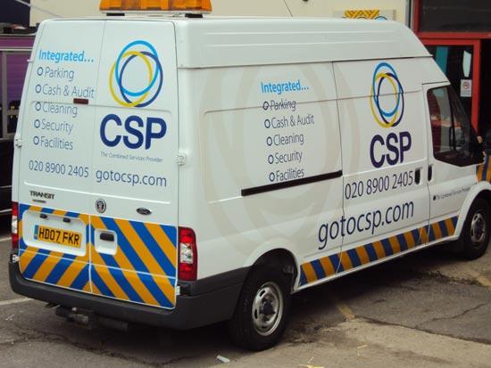 Reflective Vehicle-Graphics - CSP Transit