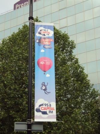 Capital Summertime Ball - Lamppost Banners