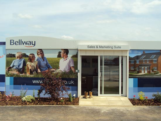 Hoardings - Bellway- Rushden Fields