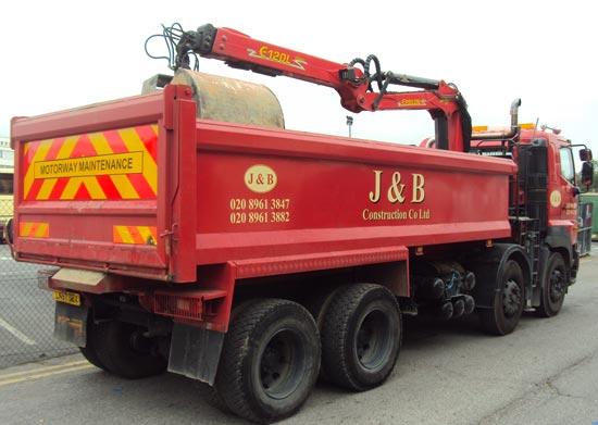 J&B Grabber (rear) - Vehicle-Graphics
