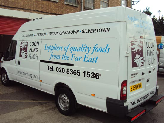 Vehicle Graphics - Loon Fung Transit