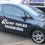 Fista Van Graphics - Ross Paving