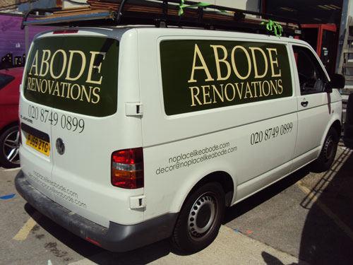 Vehicle Graphics - Abode Renovations