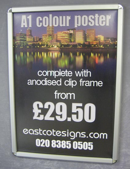 Framed A1 Colour Poster