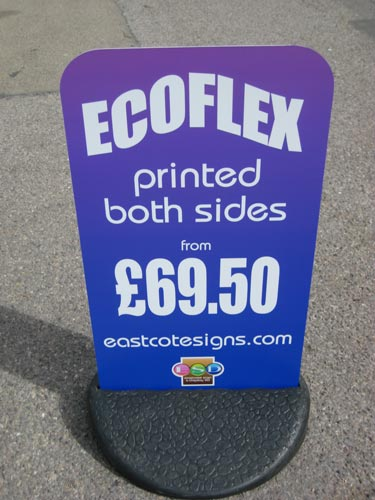 Pavement Sign - Ecoflex