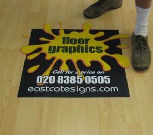 Vinyl Floor Graphics
