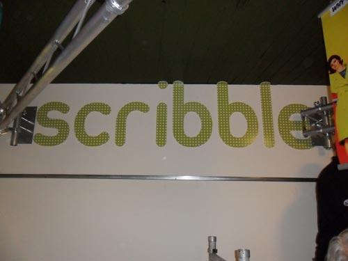 Decorative Foamex Lettering - Scribbler Leeds