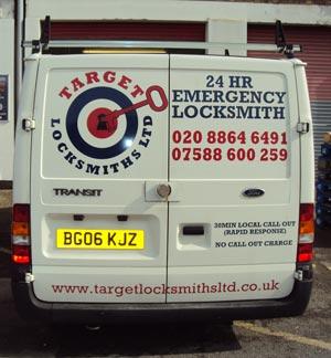 Transit Van Signwriting London