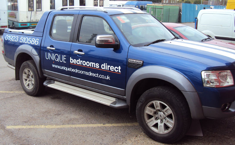 Ford Ranger Vehicle Graphics - Unique Bedrooms Direct, Northwood