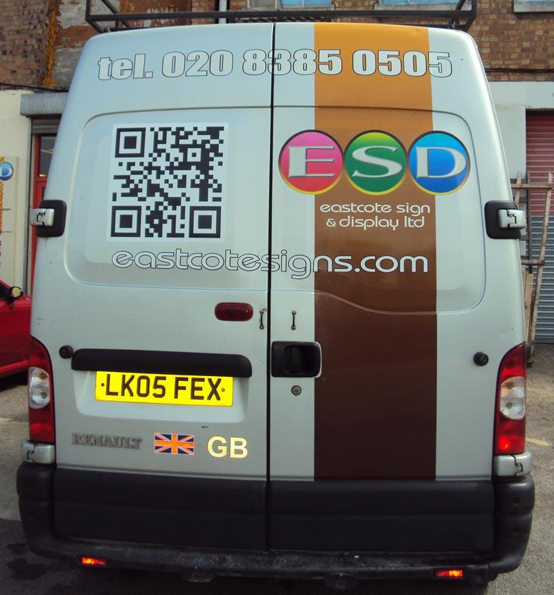 QR Code Vehicle Graphics