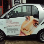 Smart Car Signwriting