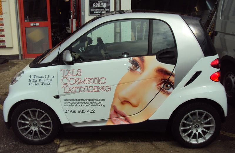 Smart Car Signwriting