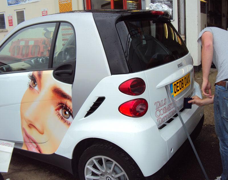 Smart Car Vehicle Graphics London
